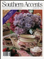 Southern Accents Magazine featuring wainscoting