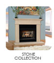 Old world charm with traditional to modern styling goes green with these eco friendly limestone finish stone mantels!