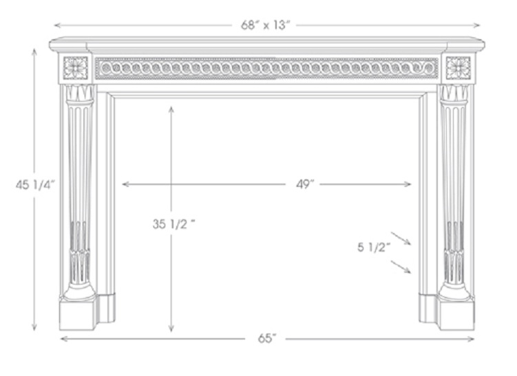 The Versailles Marble Mantels Mantelcraft